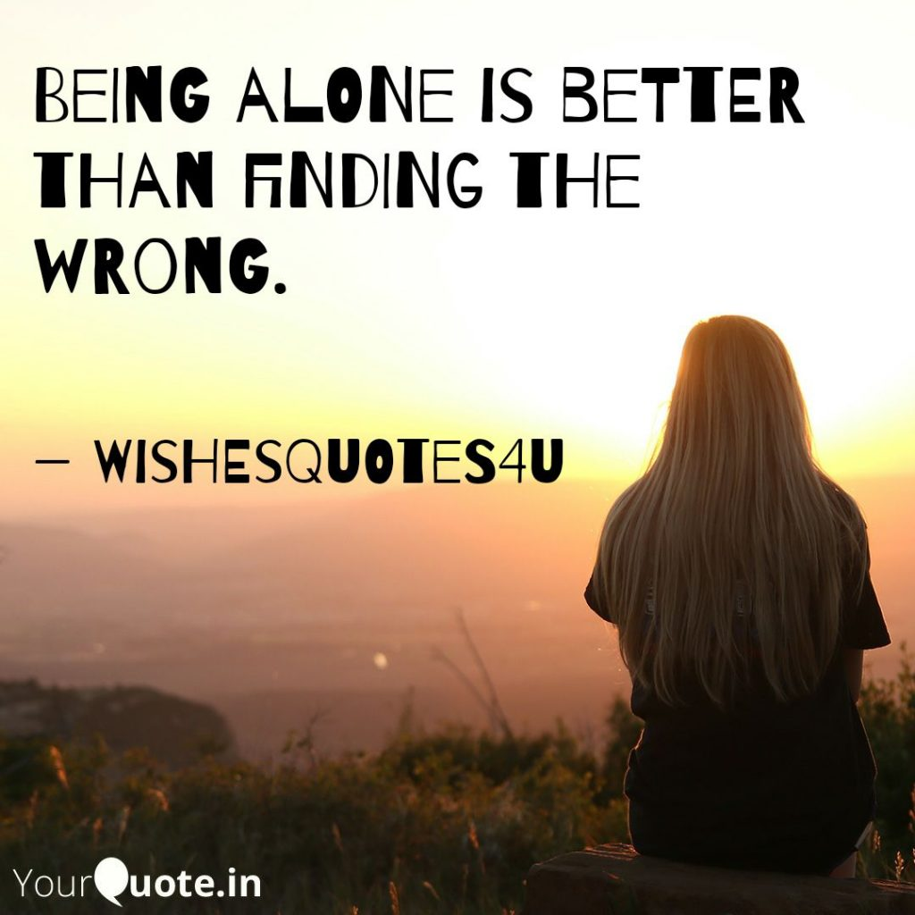 being alone quotes